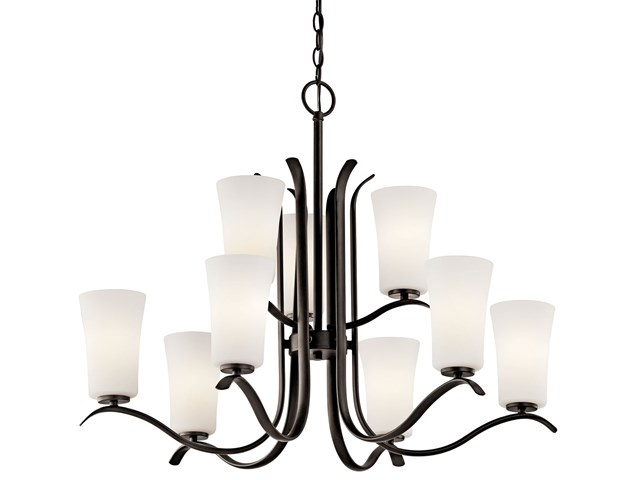 Armida™ 9 Light 2 Tier Chandelier Olde Bronze®