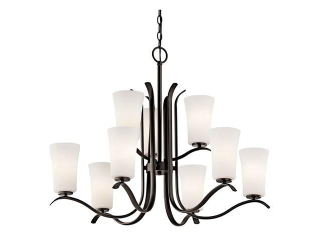 Armida™ 9 Light Chandelier with LED Bulbs Olde Bronze®
