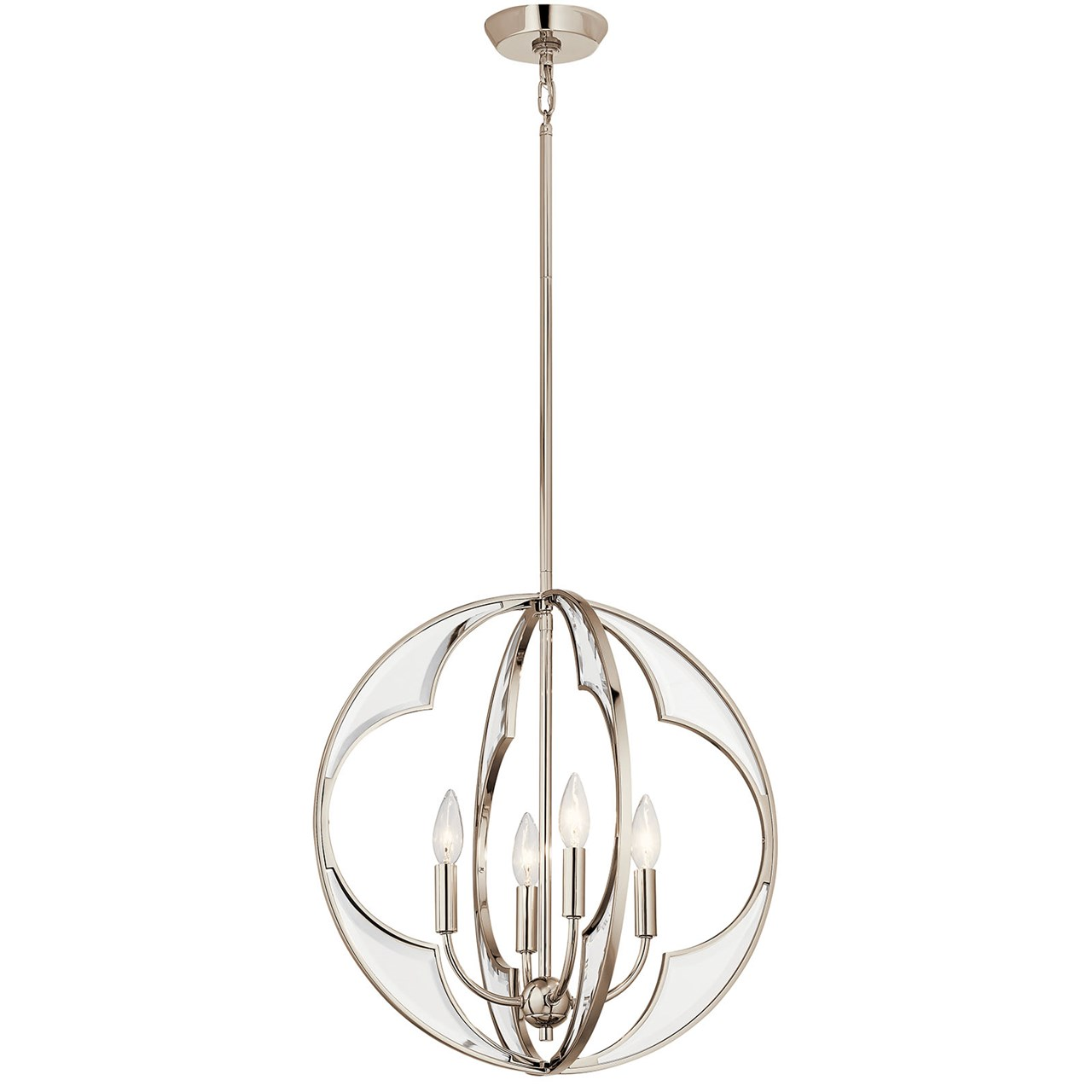 Montavello™ 4 Light Chandelier Polished Nickel™