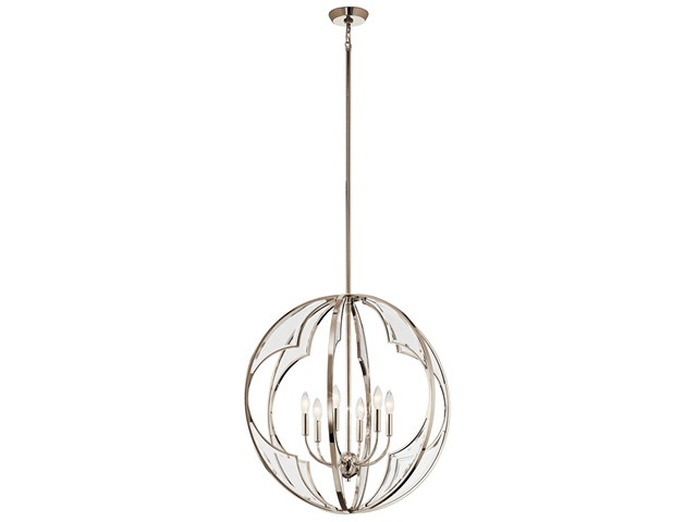 Montavello™ 6 Light Chandelier Polished Nickel™