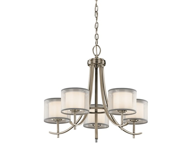 Tallie™ Chandelier 5 Light Antique Pewter