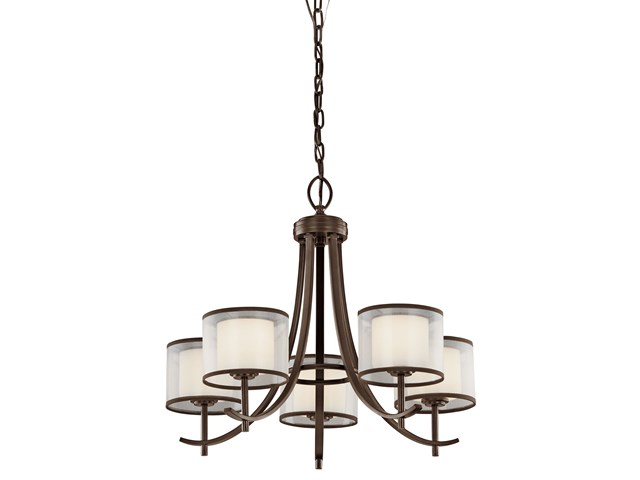 Tallie™ Chandelier 5 Light Misson Bronze