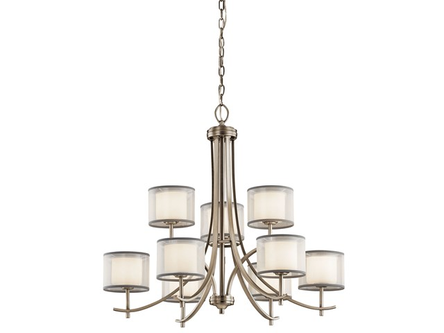 Tallie™ 9 Light Chandelier Antique Pewter