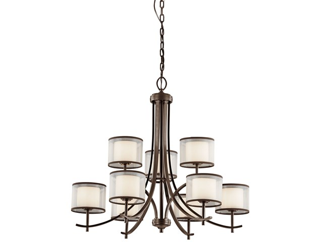 Tallie™ 9 Light Chandelier Mission Bronze