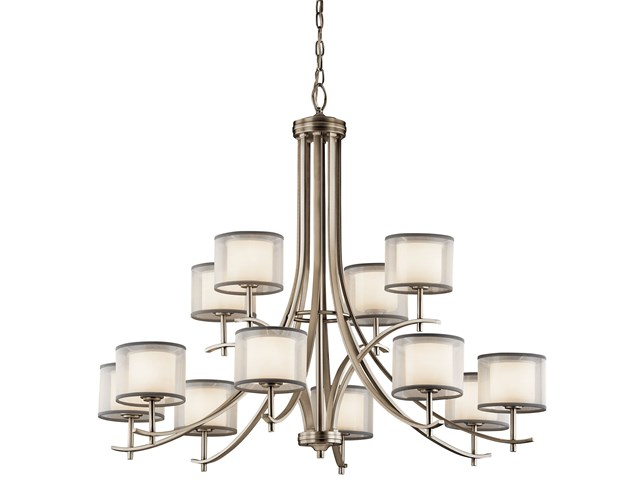 Tallie™ 12 Light Chandelier Antique Pewter