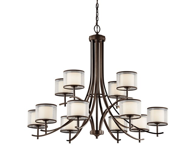 Tallie™ 12 Light Chandelier Mission Bronze