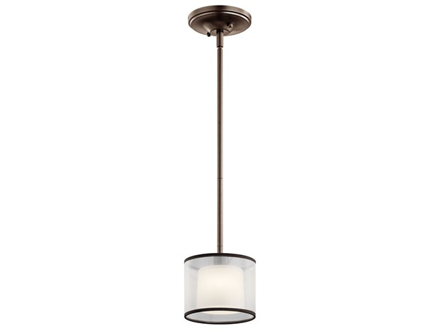 Tallie™ 1 Light Mini Pendant Mission Bronze