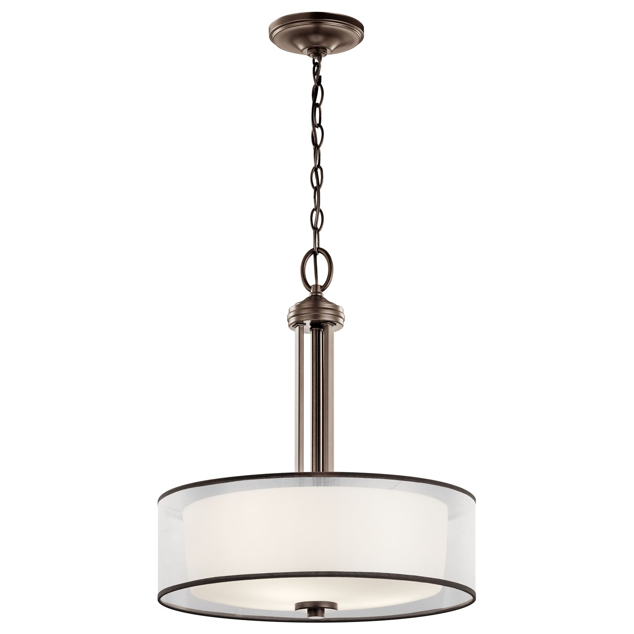 Tallie™ 3 Light Pendant Mission Bronze
