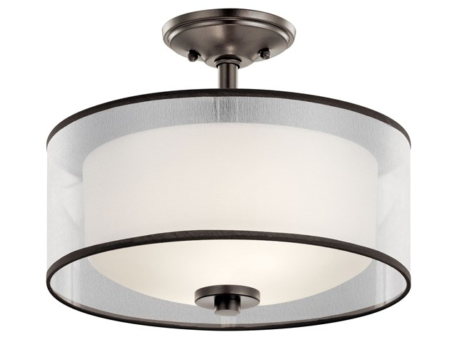 Tallie™ 2 Light Semi Flush Mission Bronze