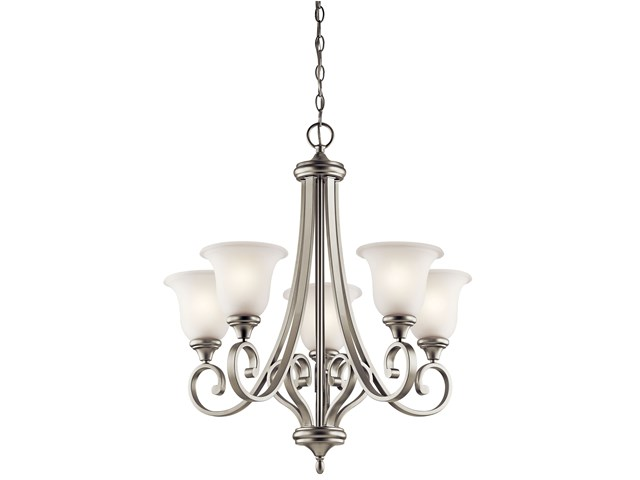 Monroe™ 5 Light Chandelier Brushed Nickel