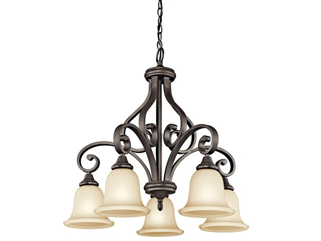Monroe™ 5 Light Chandelier Olde Bronze®