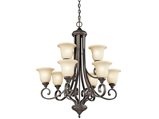 Monroe™ 9 Light Chandelier Olde Bronze®