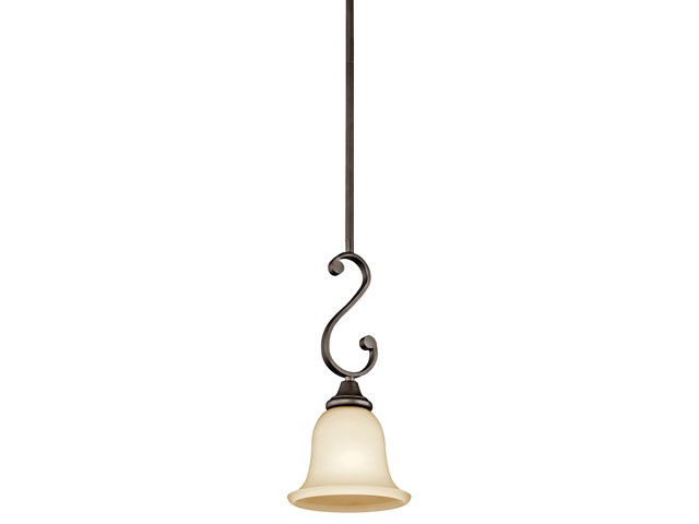 Monroe™ 1 Light Mini Pendant Olde Bronze®