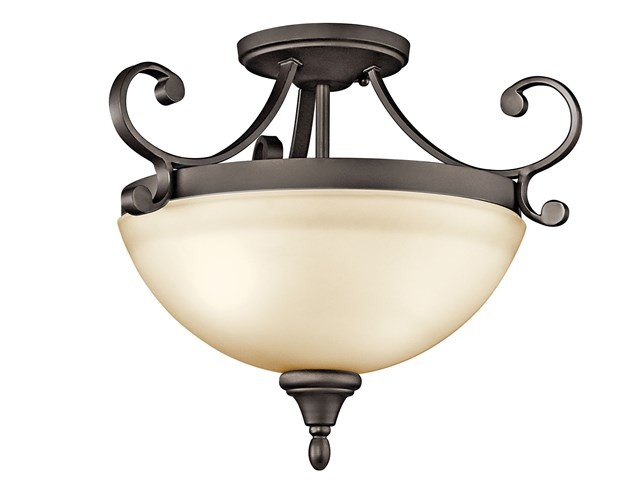 Monroe™ 2 Light Semi Flush Olde Bronze®