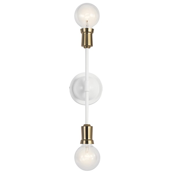 Armstrong Wall Sconce White