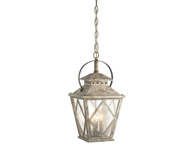 Hayman Bay™ 4 Light Pendant Distressed Antique White