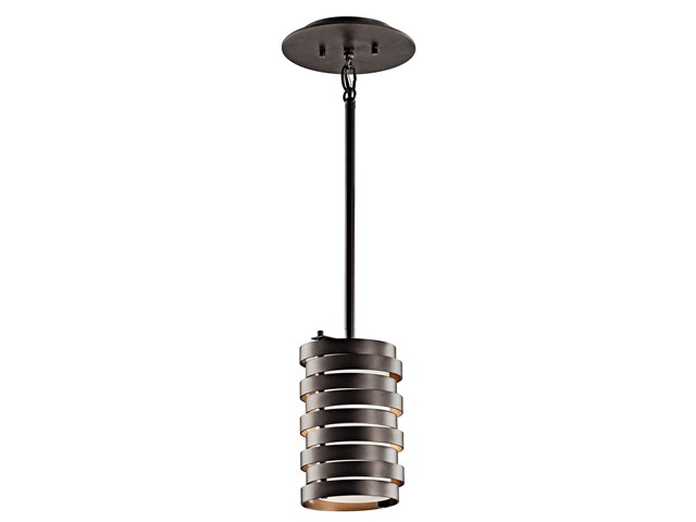Roswell™ 1 Light Mini Pendant Olde bronze