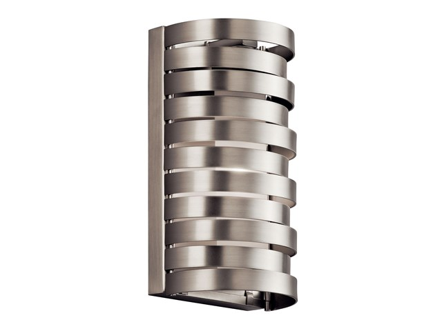 Roswell™ 1 Light Halogen Wall Sconce Brushed Nickel