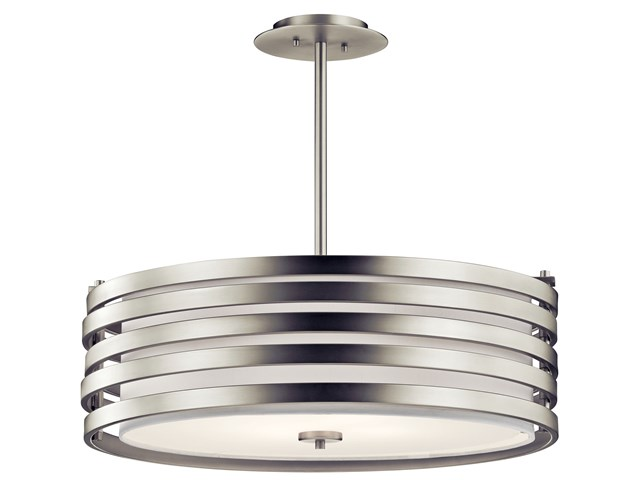 Roswell™ 4 Light Pendant Brushed Nickel