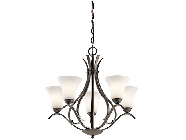 Keiran™ 5 Light Chandelier Olde Bronze®