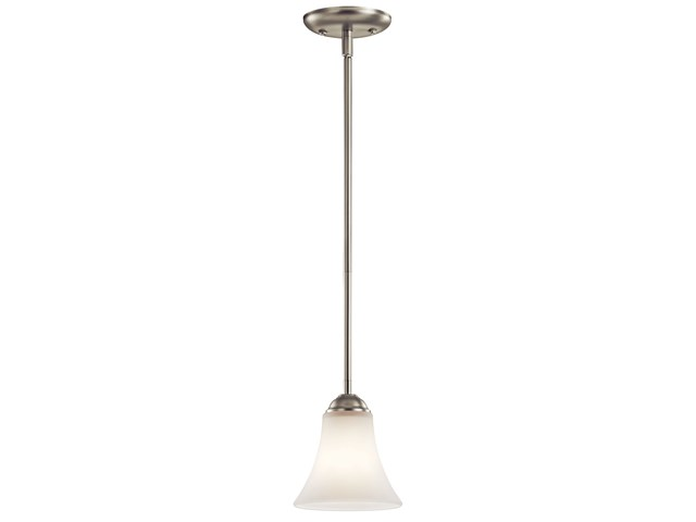 "Keiran™ 6"" 1 Light Mini Pendant Brushed Nickel"