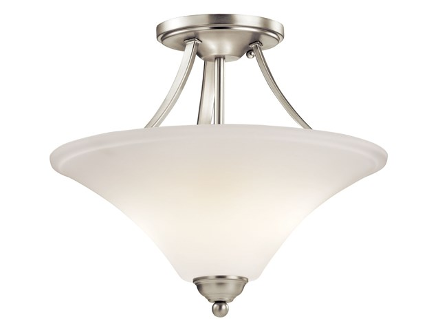 Keiran™ 2 Light Semi Flush Brushed Nickel