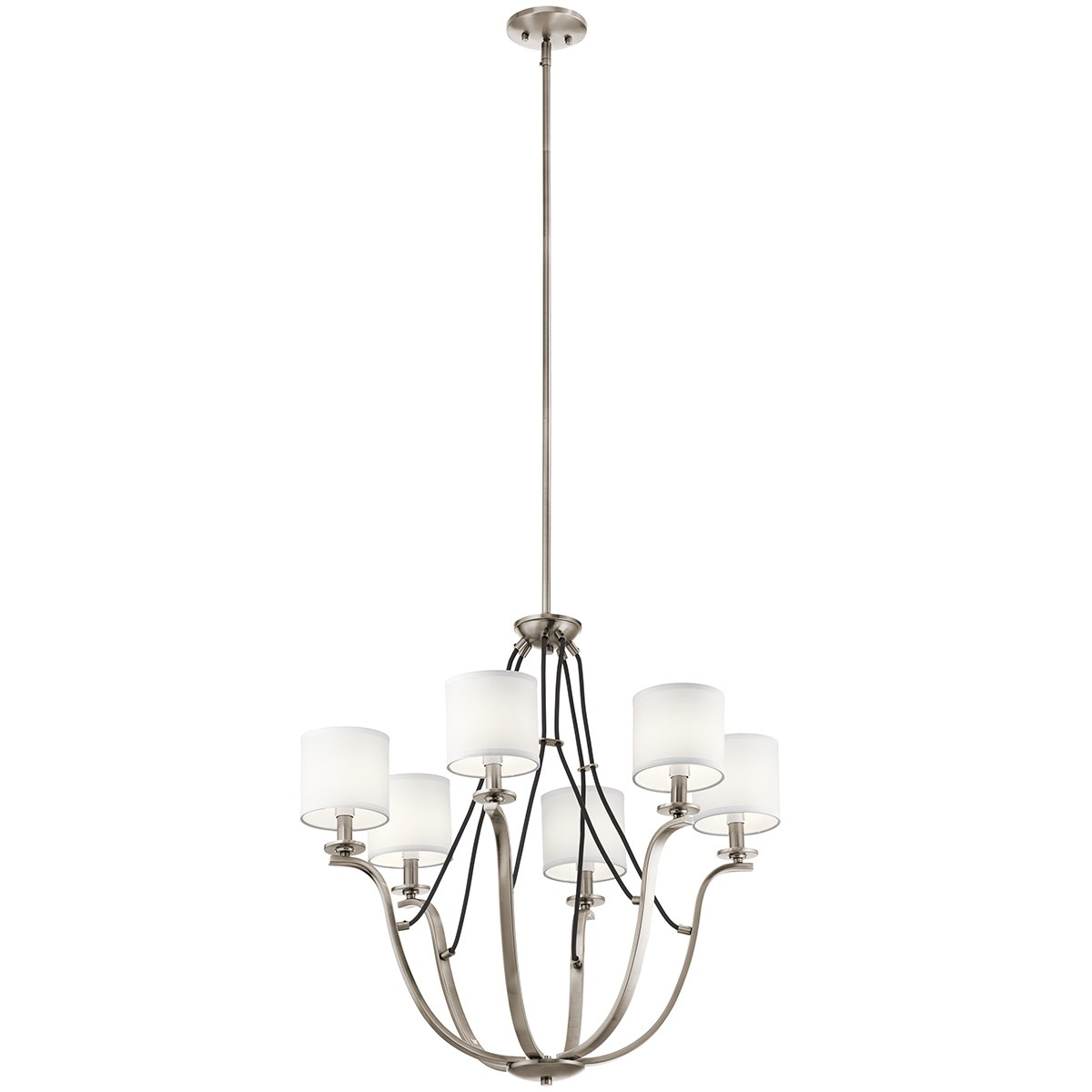 "Thisbe 27.5"" 6 Light Chandelier Classic Pewter"