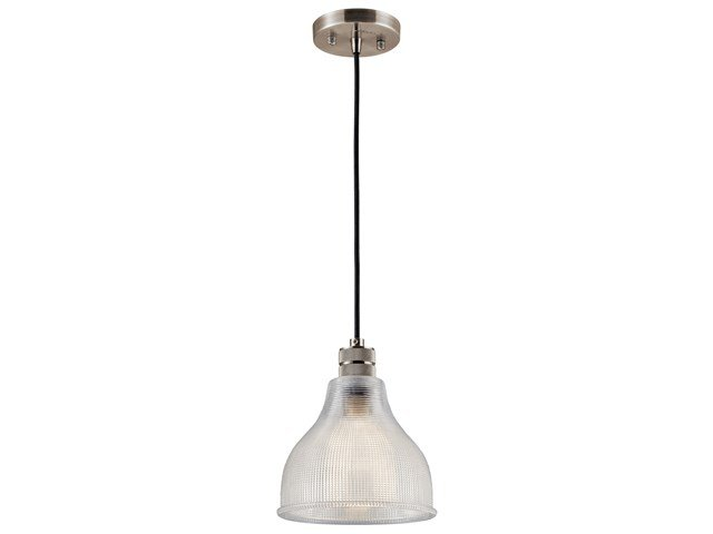 "Devin 8"" 1 Light Mini Pendant Classic Pewter"