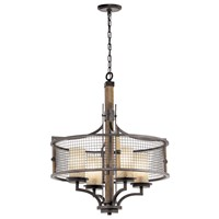 Ahrendale™ 4 Light Chandelier Anvil Iron