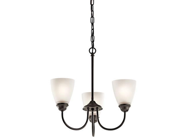 Jolie™ 3 Light Mini Chandelier with LED Bulbs Olde Bronze®
