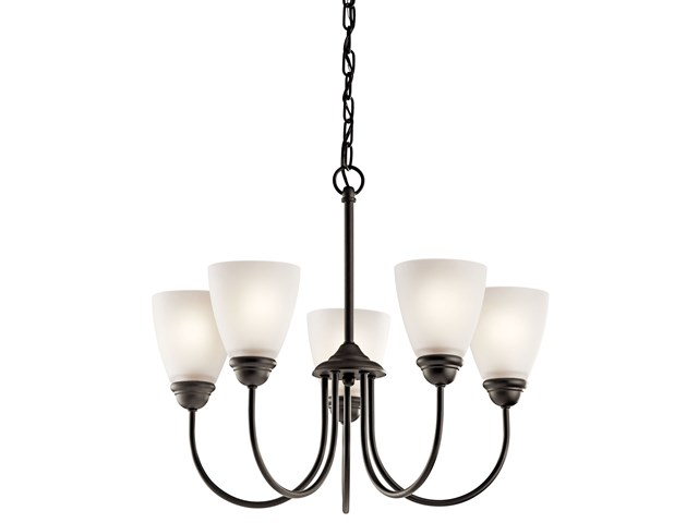 Jolie™ 5 Light Chandelier Olde Bronze®