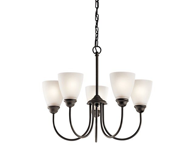 Jolie™ 5 Light Chandelier with LED Bulbs Olde Bronze®