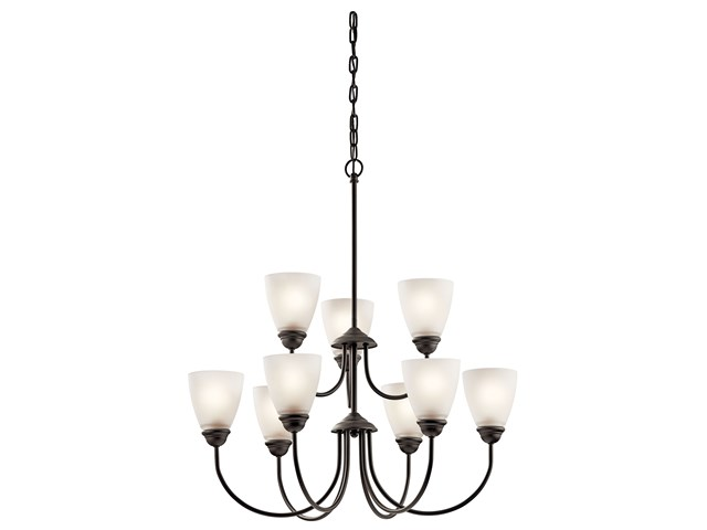 Jolie™ 9 Light Chandelier Olde Bronze®