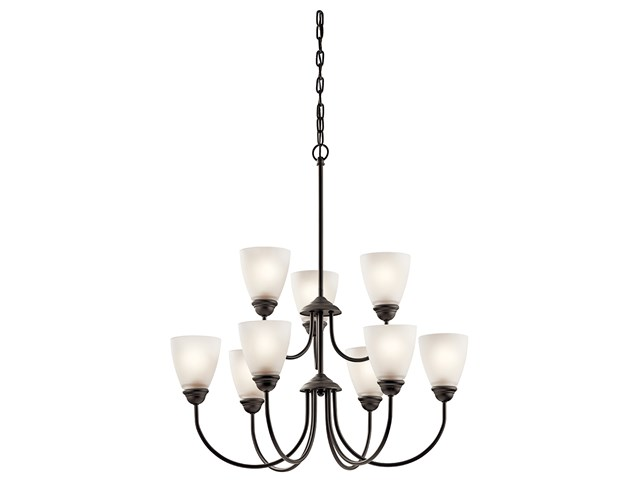Jolie™ 9 Light Chandelier with LED Bulbs Olde Bronze®