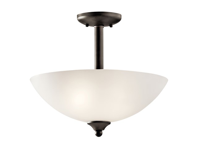 Jolie™ 2 Light Convertible Pendant with LED Bulbs Olde Bronze®
