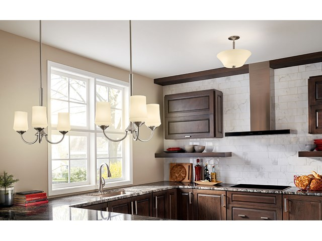 Aubrey 3 Light Chandelier with LED Bulbs Olde Bronze®