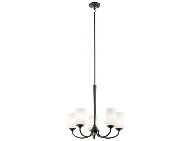 Aubrey 5 Light Chandelier Olde Bronze®