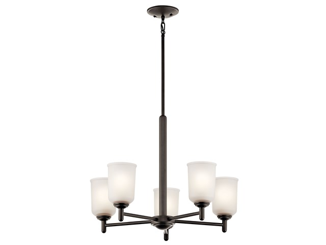Shailene™ 5 Light Chandelier Olde Bronze®