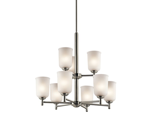 Shailene™ 9 Light Chandelier Brushed Nickel