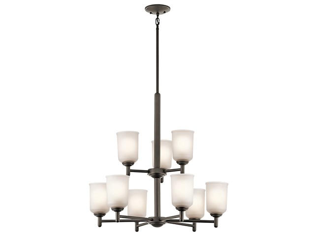 Shailene™ 9 Light Chandelier Olde Bronze®