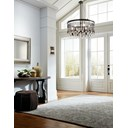 Piper 6 Light Chandelier Espresso