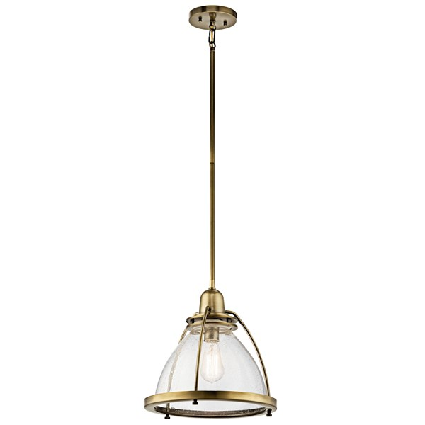 Silberne™ 1 Light Pendant Natural Brass Natural Bronze