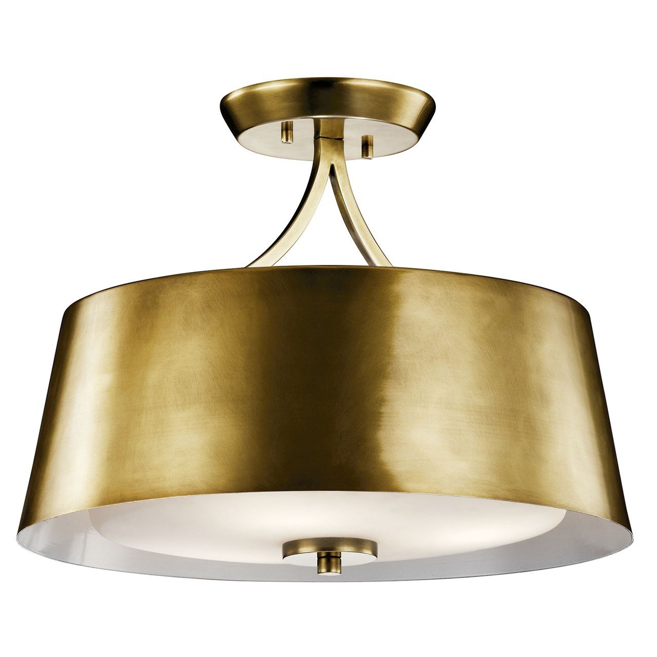 Maclain 3 Light Convertible Pendant Natural Bronze