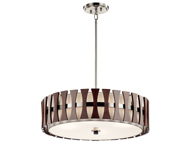 Cirus™ 4 Light Convertible Pendant Auburn Stain
