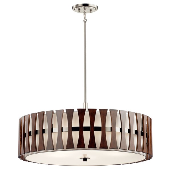 Cirus™ 5 Light Convertible Pendant Auburn Stain