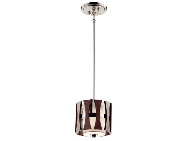 Cirus™ 1 Light Mini Pendant Auburn Stain