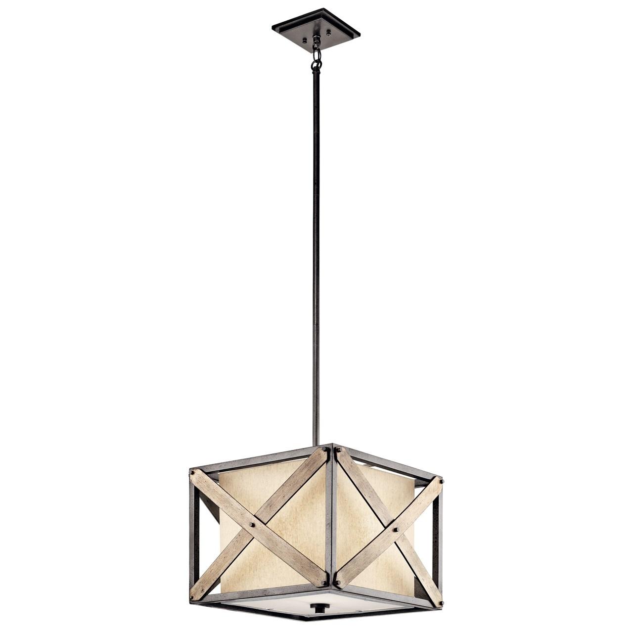 Cahoon™ 1 Light Convertible Pendant Anvil Iron™   Kichler Lighting