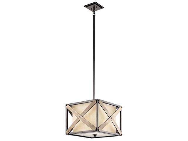 Cahoon™ 1 Light Convertible Pendant Anvil Iron™