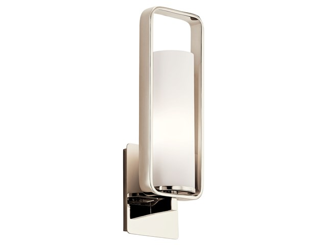 City Loft™ 1 Wall Sconce Polished Nickel™