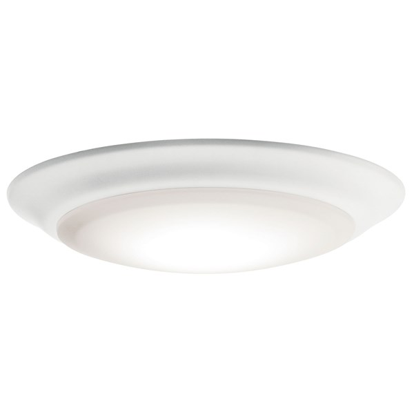 "Downlight Gen I 7.5"" 3000K LED Flush Mount White"